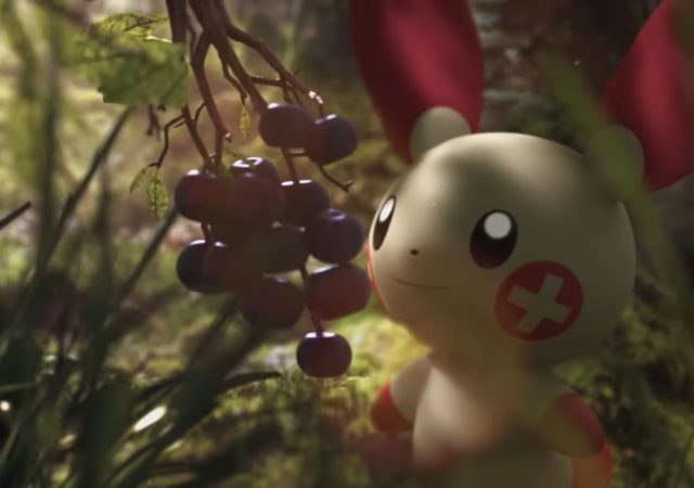 Pokémon GO - Posipi et nature