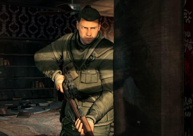 Sniper ELite V2 planqué dans l'ombre