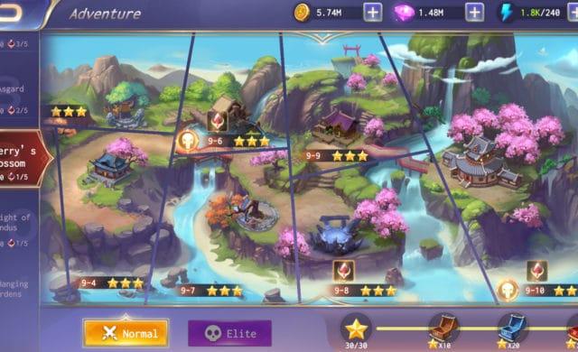 SMITE Blitz screenshot carte