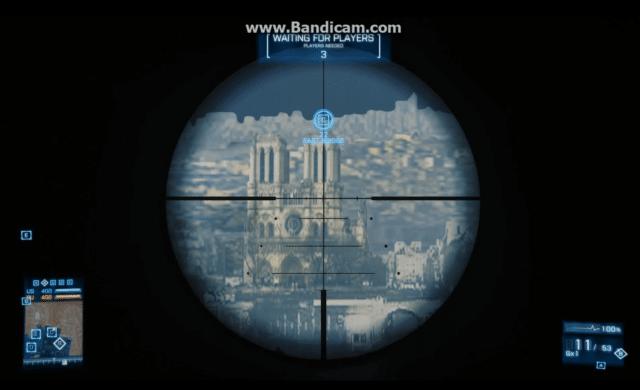 Battlefield 3 Notre-Dame