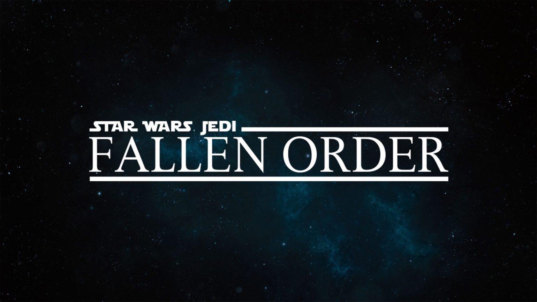star wars : jedi fallen order logo art