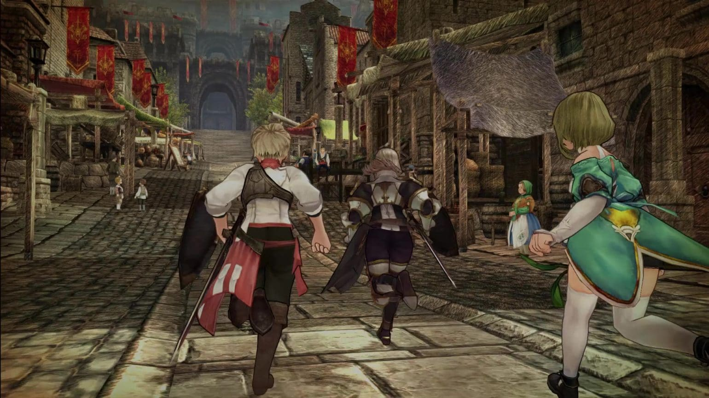 Caravn Stories Screenshot ruelle ville