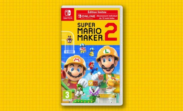 Super Mario Maker 2 édition limitée