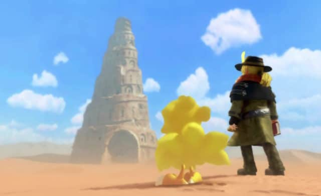 Chocobo's mystery dungeon every buddy! - Chocobo et Cid