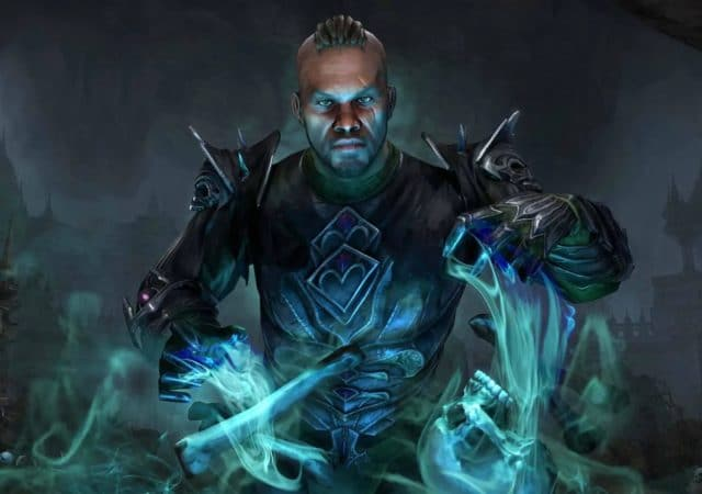 The Elder Scrolls Online Elsweyr nécromancien
