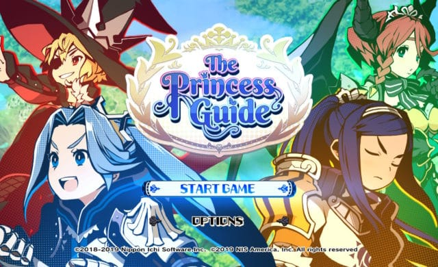 The Princess Guide - Title Screen