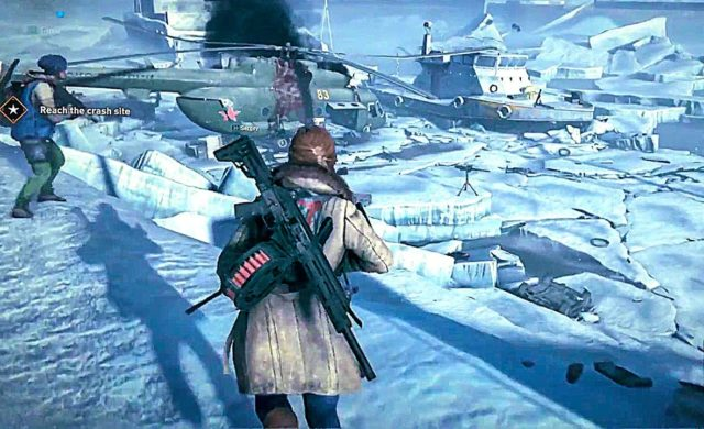 World War Z se dévoile dans de multiples environnements comme sur les mers gelées de Russie !