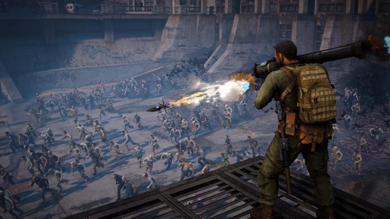 World War Z avec le bazooka vous pourrez vous sortir de situations compliquées... ou non !