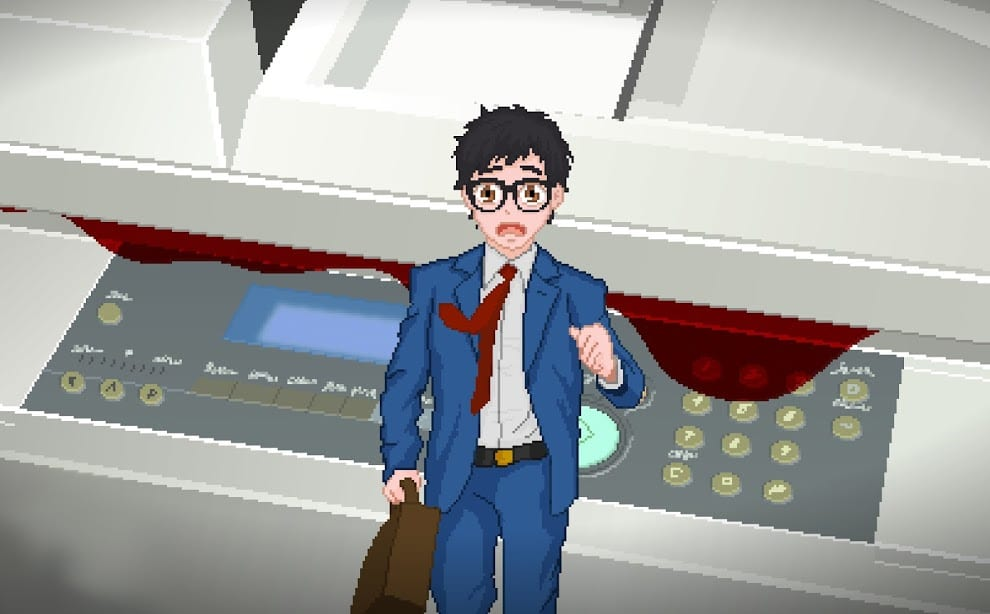 Yuppie Psycho salaryman