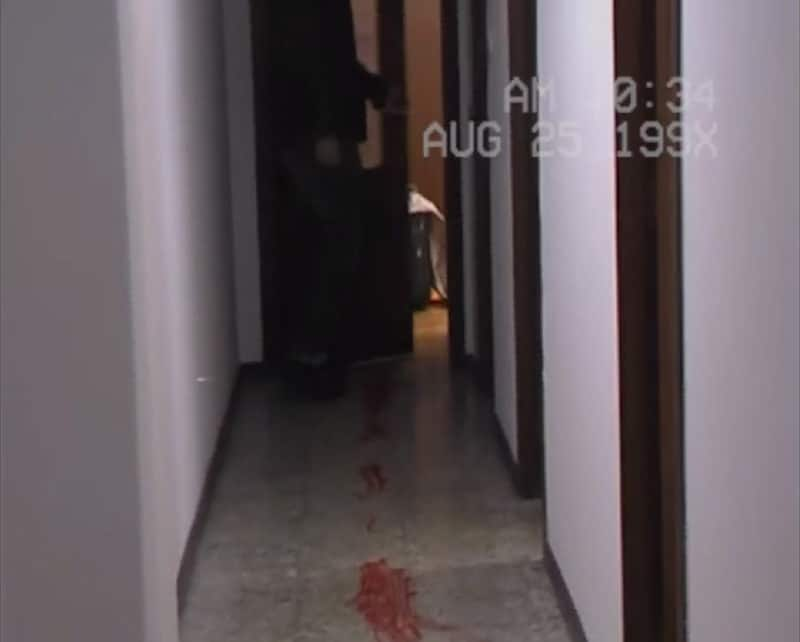 Yuppie Psycho film horreur couloir