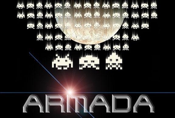 Armada Couverture Française Space Invaders
