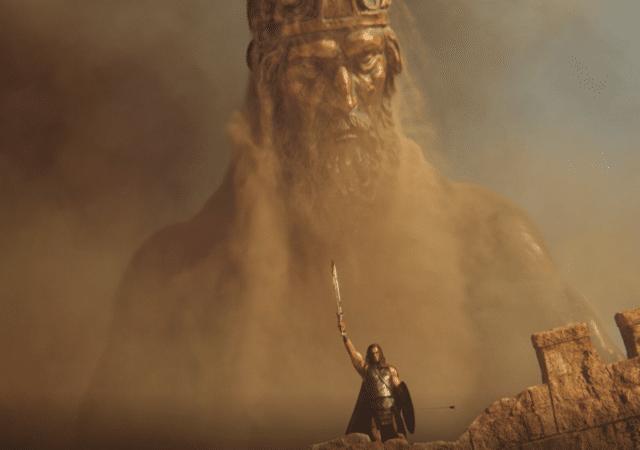 Conan Unconquered statue