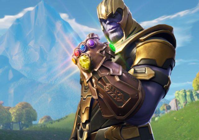 Fortnite Thanos armure