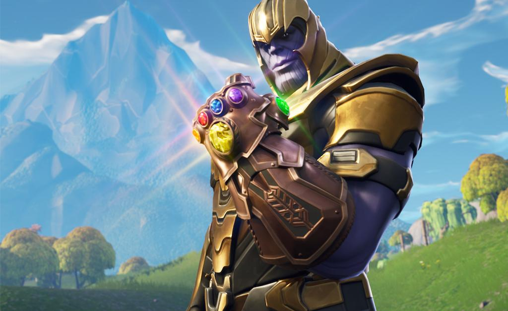 Fortnite Thanos armure
