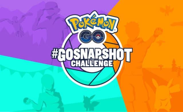 Pokemon Go Snapshot Challenge image titre