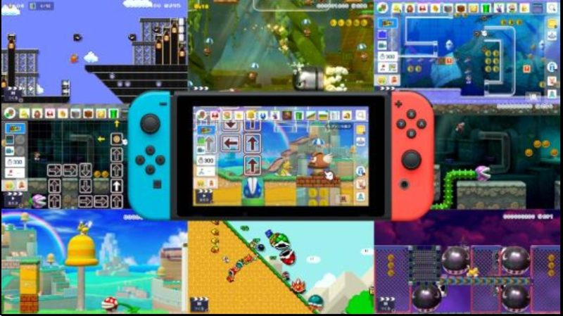 Nintendo Switch Super Mario Maker 2 Images du jeu