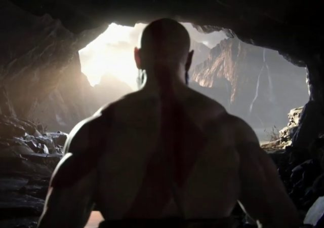 God of war: raising Kratos photo trailer