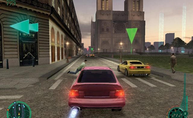 Midnight Club 2 course Notre-Dame