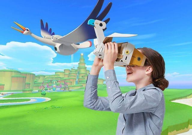 Nintendo Labo VR Kit illustration rendu