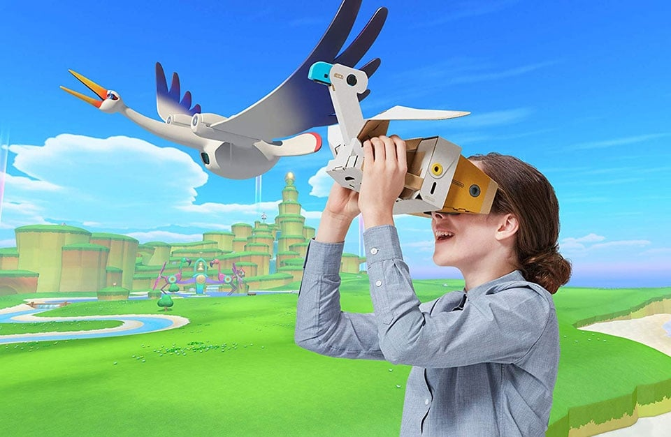 Nintendo Labo VR Kit illustration rendu