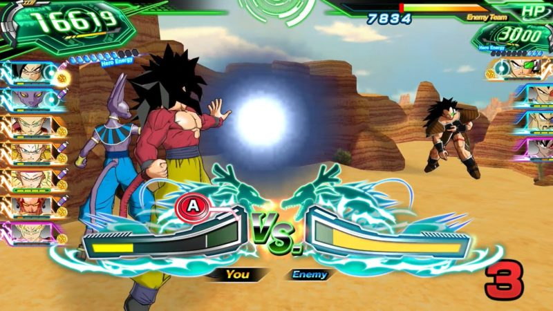 super dragon ball heroes fight