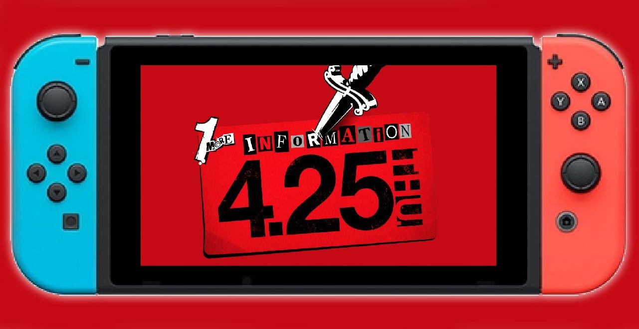 Persona 5 P5S switch