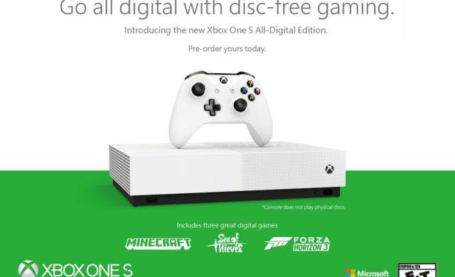 xbox one s all digital edition bundle