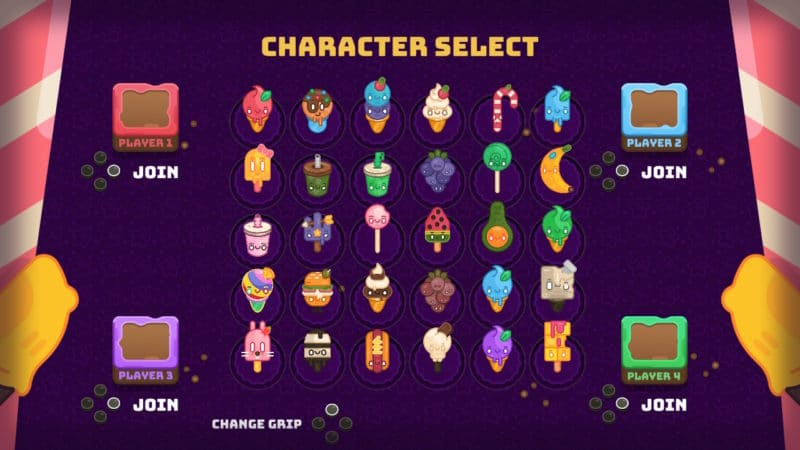 Hungry Baby: Party Treats liste des personnages