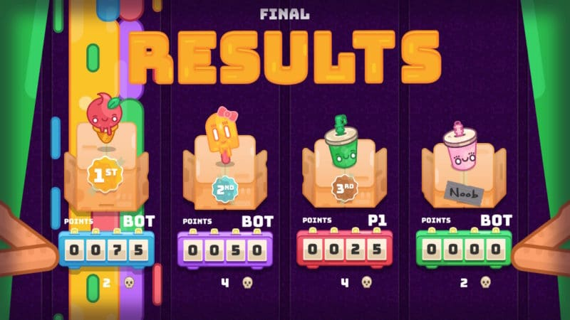 Hungry Baby: Party Treats résultats scores