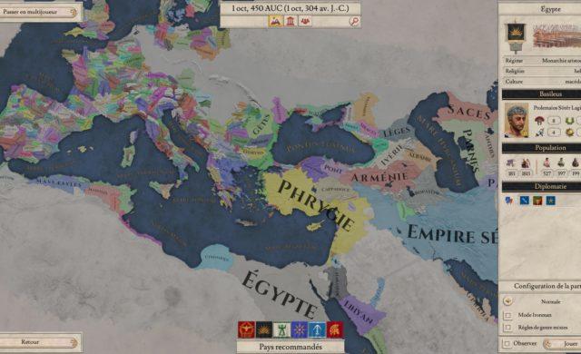 Imperator: Rome carte