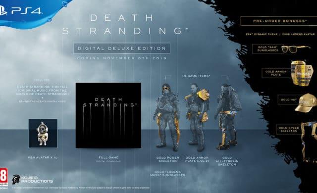 Death Stranding édition numérique deluxe