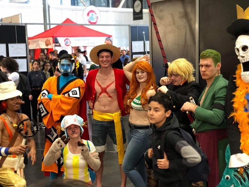 Geek Days 2019 cosplay One Piece groupe