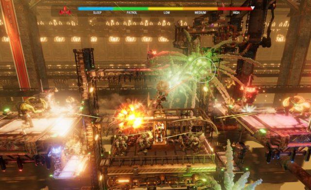 Oddworld Soulstorm gameplay explosion