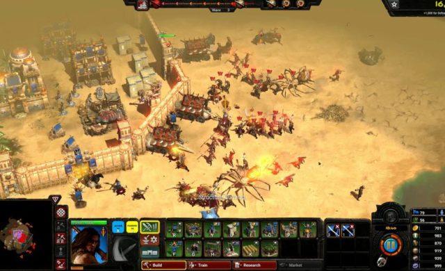 Conan Unconquered ecran de jeu forteresse assaillie