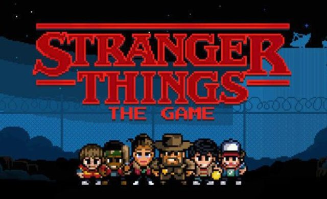 Sélection jeux mobiles Stranger Things