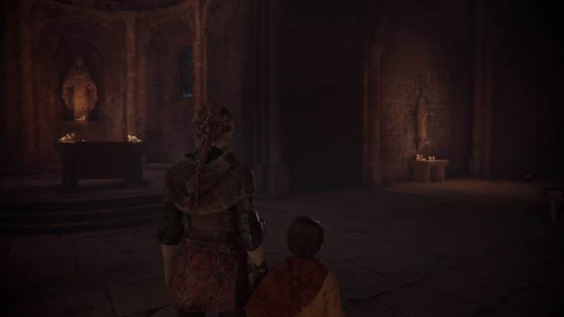 A Plague Tale: Innocence chapelle