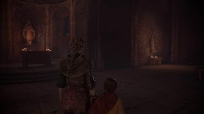 A Plague Tale: Innocence chapelle