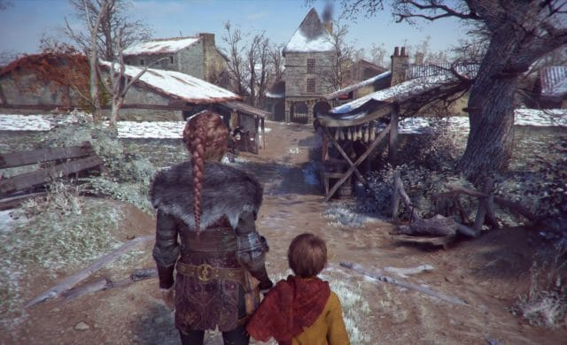 A Plague Tale: Innocence village
