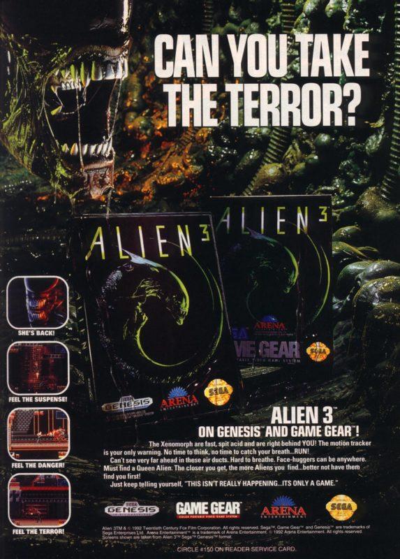 alien 3 pub megadrive