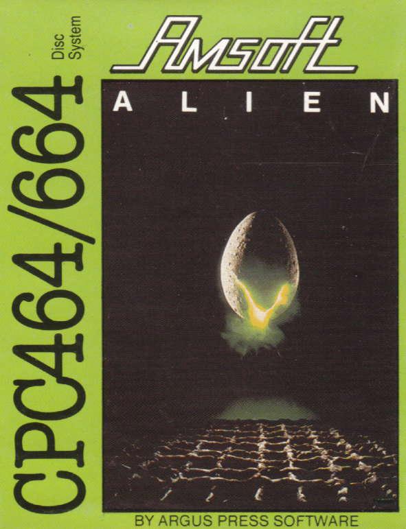 Alien Amstrad CPC jaquette