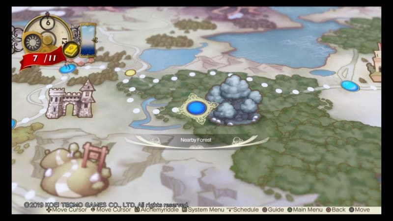 Atelier Lulua: The Scion of Arland carte