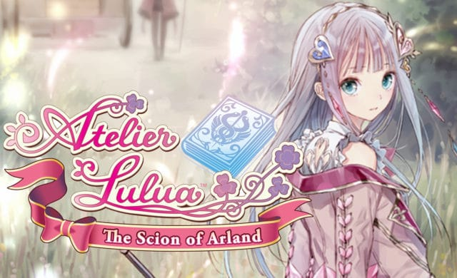 atelier lulua the scion of arland test logo