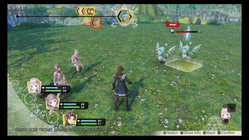 Atelier Lulua: The Scion of Arland combat