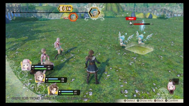 Atelier Lulua: The Scion of Arland combat