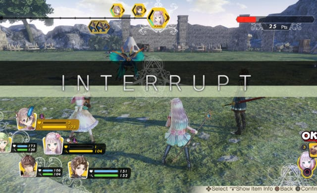 Atelier Lulua: The Scion of Arland interruption