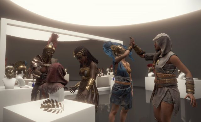 Lobby du jeu VR Assassin's Creed Beyond Medusa's Gate