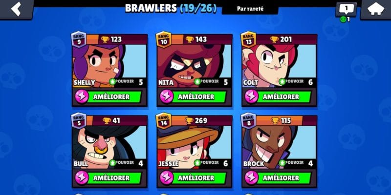 brawlers-personnages-champions brawl stars