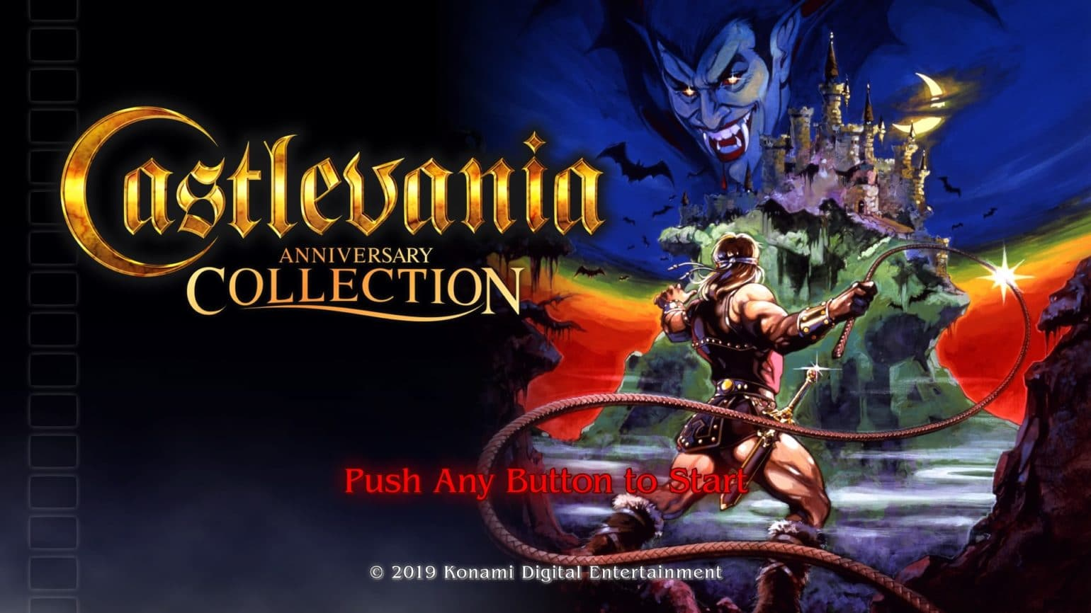 Castlevania Anniversary Collection - Titre