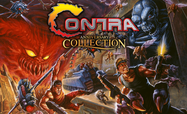 Contra Anniversary Collection logo