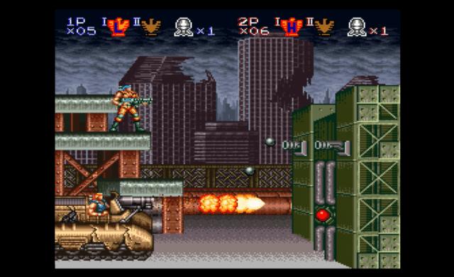Contra Anniversary Collection Contra Super NES
